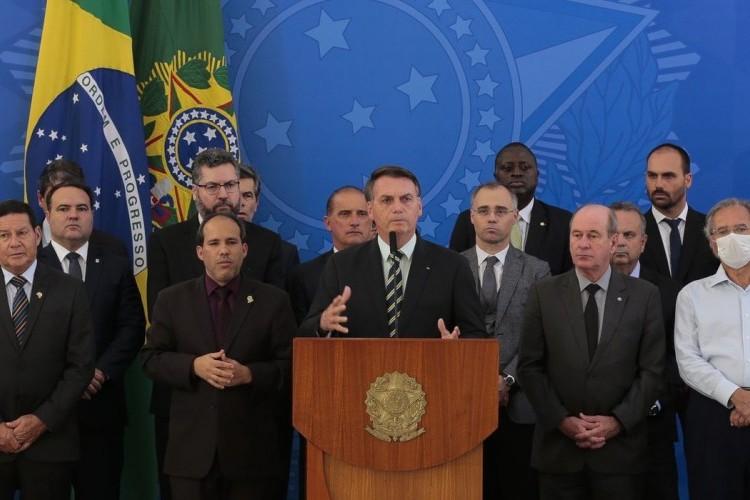 https://radiofm97.com.br/uploads/news/Bolsonaro diz que não houve intervenção política na Polícia Federal